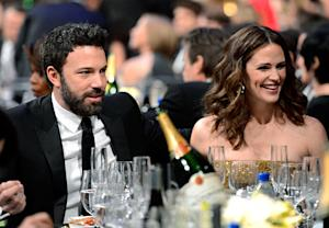 "Ben Affleck Calls Jennifer Garner the ""Most Beautiful Woman"" at the SAG Awards"
