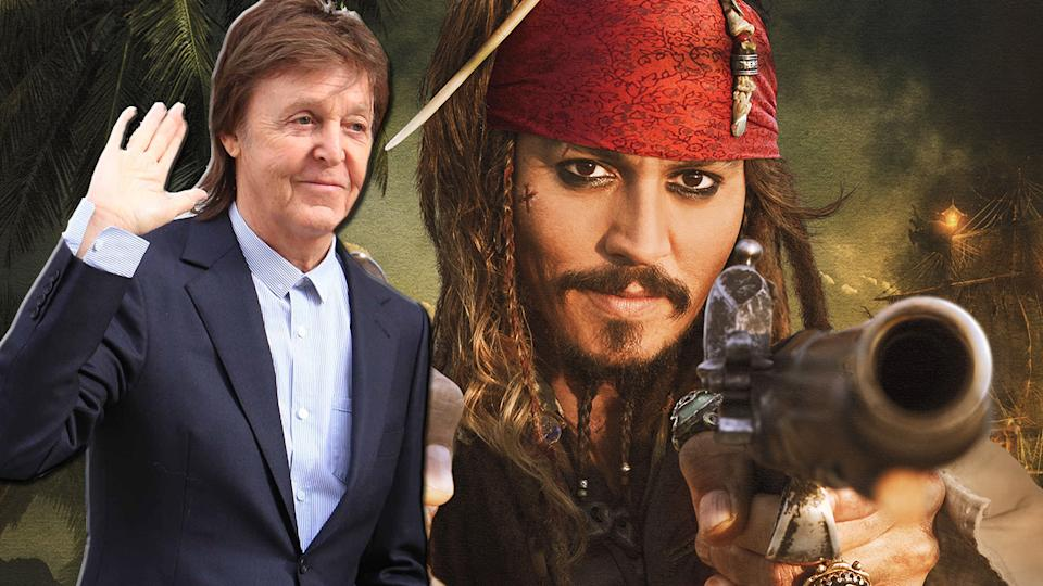 Pirates of the Caribbean 5 Adds Paul McCartney