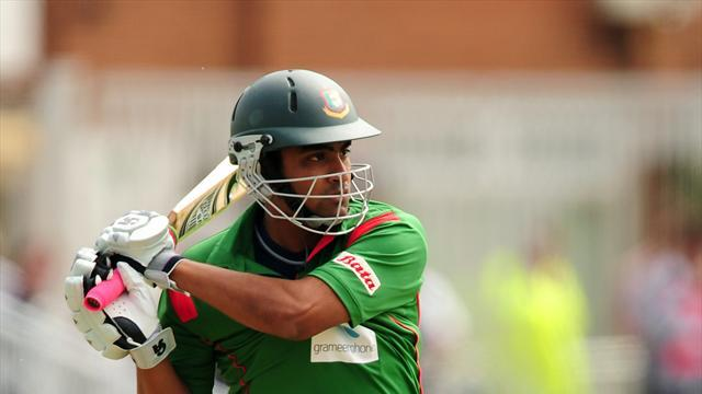 Cricket - Tamim the star for Bangladesh