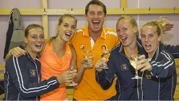 Dutch stun Russia in one of the biggest Fed Cup upsets ever