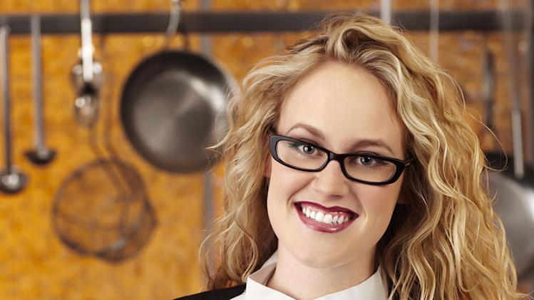 "Sabrina Brimhall (El Cajon, CA) is a contestant on the Red Team on Season 8 of ""Hell's Kitchen."""