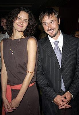 Shalom Harlow and David Arquette Happy Here and Now Toronto Film Festival - 9/10/2002