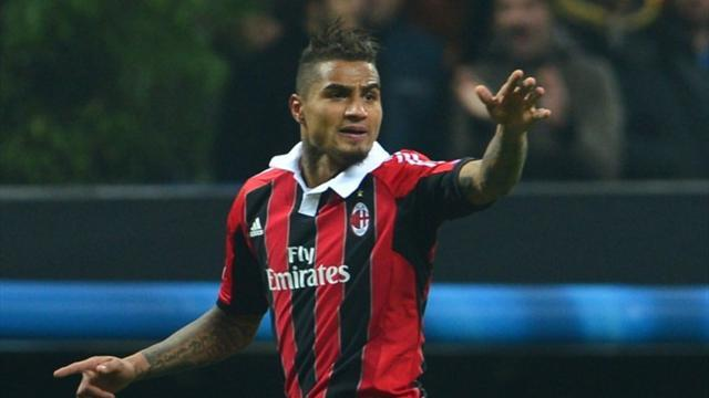 Serie A - Boateng out for Milan, Montolivo returns