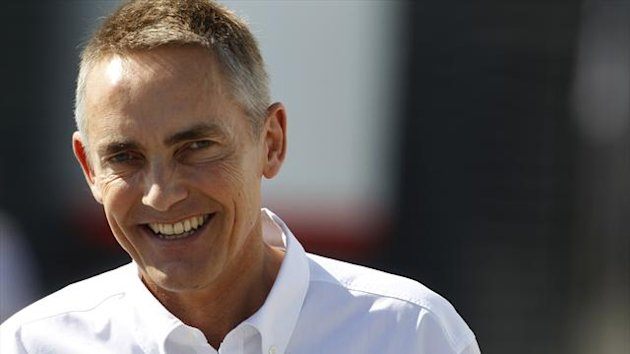2012 European GP McLaren Whitmarsh