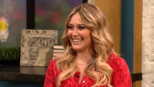 Hilary Duff stops by Access Hollywood Live on Jun 18, 2012 -- Access Hollywood