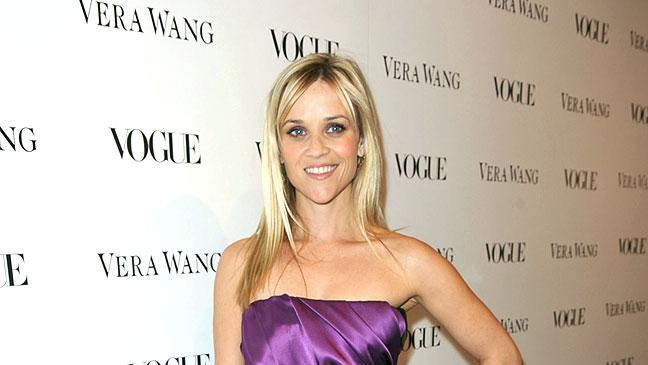 Witherspoon Reese Vera Wang Store Opng