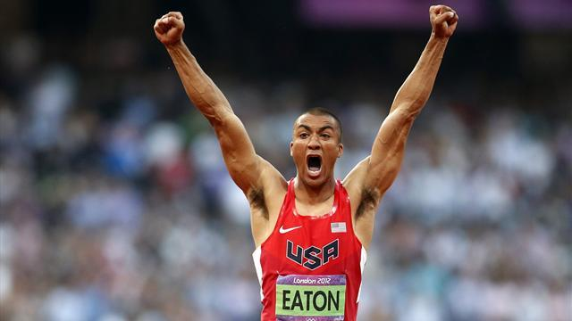 Athletics - Olympic champion Eaton wants decathlon in Diamond League