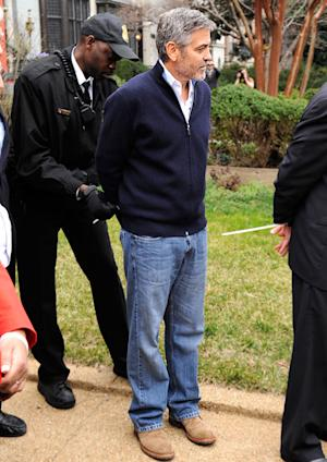 PIC: George Clooney Gets Arrested