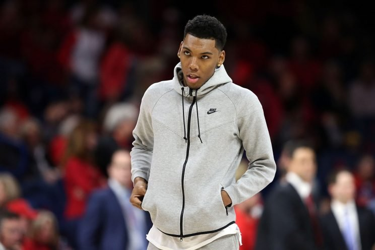 Alonzo Trier hasn't played so far this season for Arizona, and according to ESPN's Jeff Goodman, Trier's absence has been due to a failed drug test. (Getty)