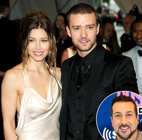 *NSYNC's Joey Fatone Offers Justin Timberlake Marriage Advice