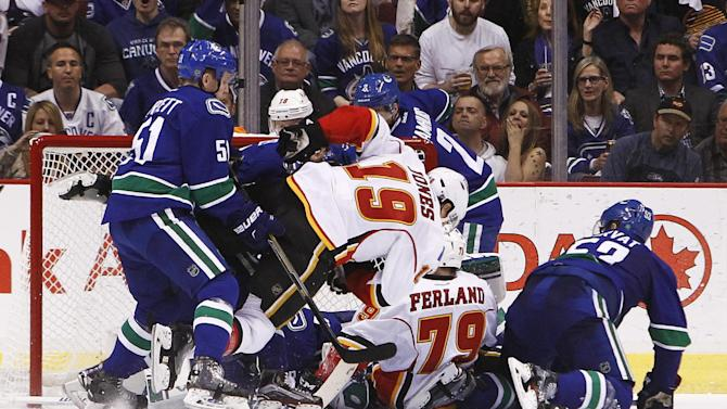 Calgary Flames v Vancouver Canucks - Game Two