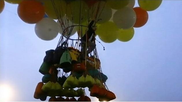 Balloon Man's Air-Travel Hopes Burst Over Newfoundland