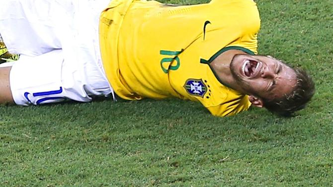 World Cup - Scolari: Brazil are playing for Neymar