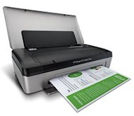 The HP Office Jet 100 Mobile Printer