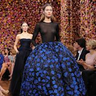 Christian Dior couture model