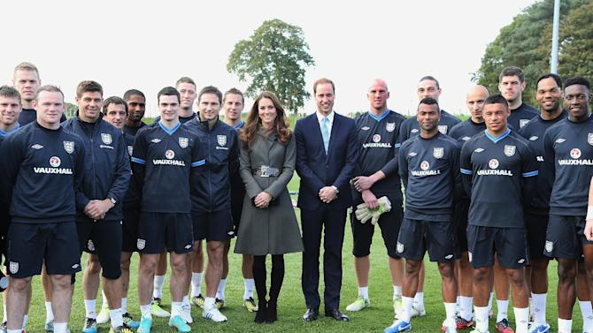 The Duke and Duchess of Cambridge attended the official launch of the FA's National Football Centre