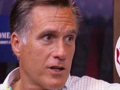 Romney: 'It Is a Jobless Recovery, if It's a Recovery at All'