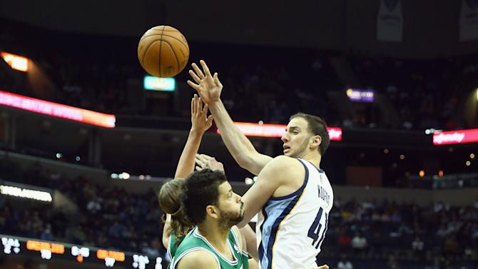 Boston Celtics v Memphis Grizzlies