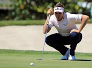 England's Ian Poulter, seen here in March 2012, is hoping to complete a hat-trick of Asian wins when he plays the Ballantine's Championship in South Korea next week
