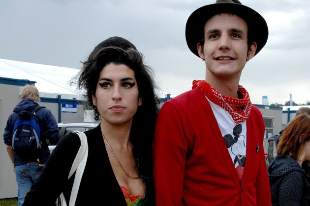 Amy Winehouse und Blake Fielder Civil (Bild: Getty Images)