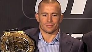Georges St-Pierre is Focused on Nick Diaz, Not a Superfight with Anderson Silva