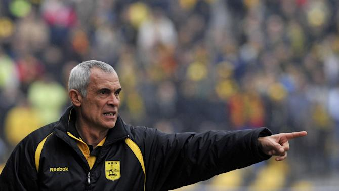 Egypt names Cuper from Argentina to lead its soccer team