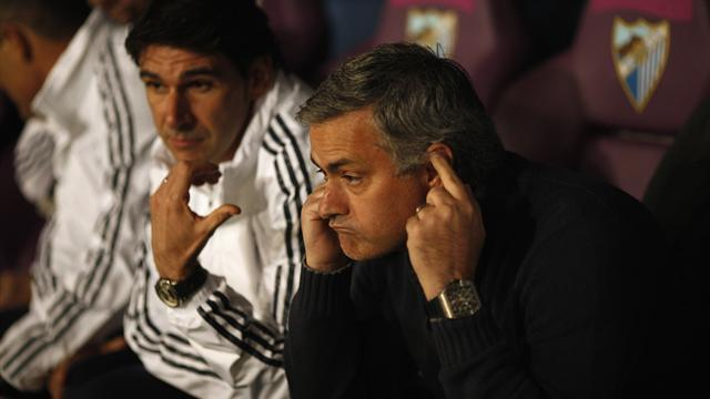 Liga - Problems mounting for Real Madrid and Mourinho