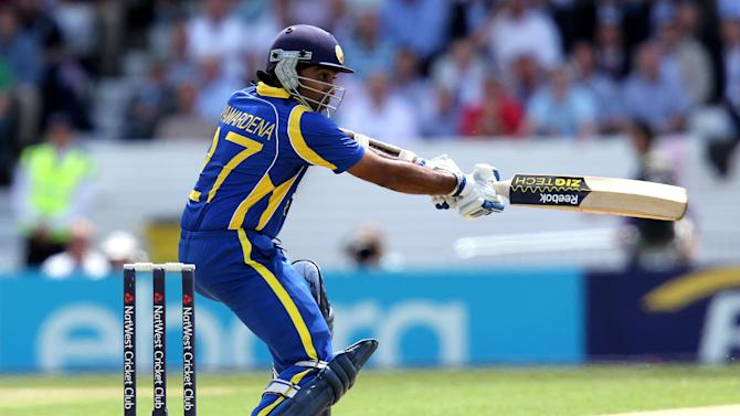 Mahela Jayawardene scored an unbeaten 65 as Sri Lanka defeated West Indies
