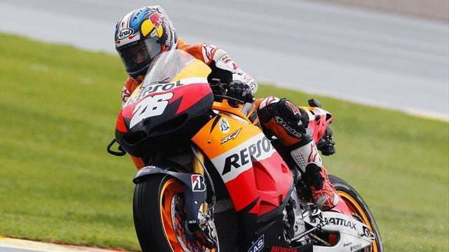Motorcycling - Pedrosa surprised Lorenzo escaped
