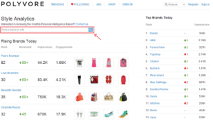 Polyvore Guide for Brands & Retailers: Getting Started image Screen shot 2013 02 05 at 7.12.33 PM