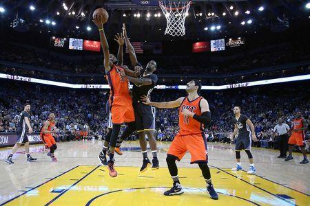 NBA: Oklahoma City Thunder at Golden State Warriors