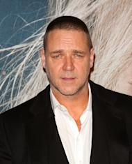 Russell Crowe attends the 'Les Miserables' New York premiere at Ziegfeld Theatre on December 10, 2012 -- Getty Premium