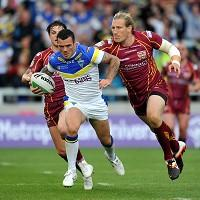 Chris Bridge, centre, has missed out on a place in Warrington's cup final squad