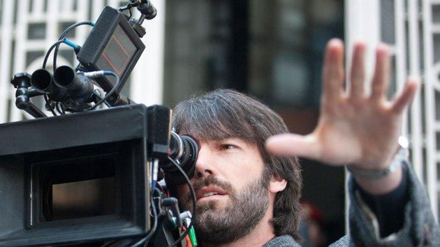 "Ben Affleck on set for ""Argo"""
