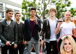 The Wanted: We Weren't Allowed to Make Eye Contact with Britney Spears