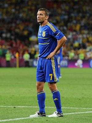 Andriy Shevchenko is Ukraine's all-time record goalscorer