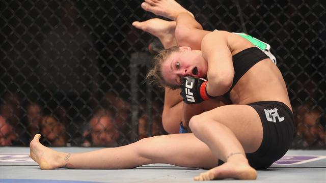 Mixed Martial Arts - Rousey wins first ever women's UFC fight