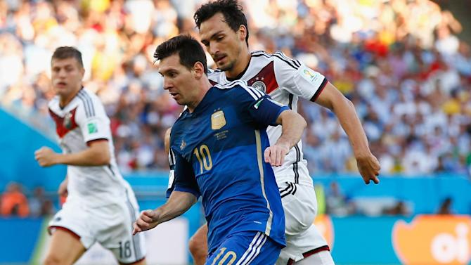 World Cup - Messi named player of the tournament