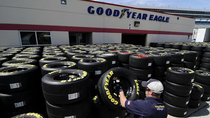 Tires the talk of Texas ahead of Sunday's race