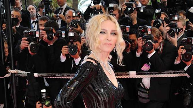 Madonna Cannes
