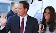 William And Kate At Big Cats Film Premiere