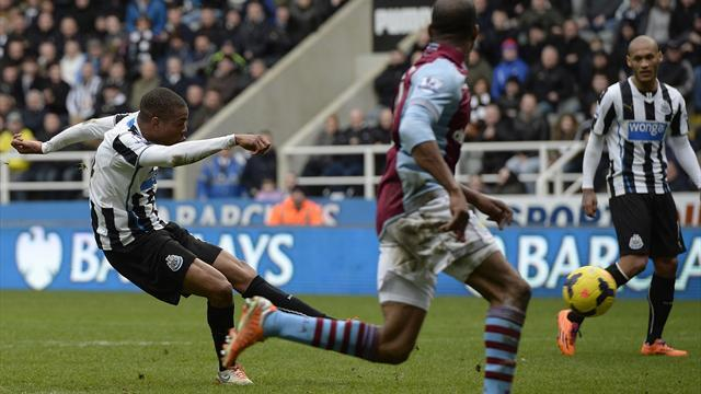 Premier League - Last-gasp Remy ends Newcastle's home hoodoo