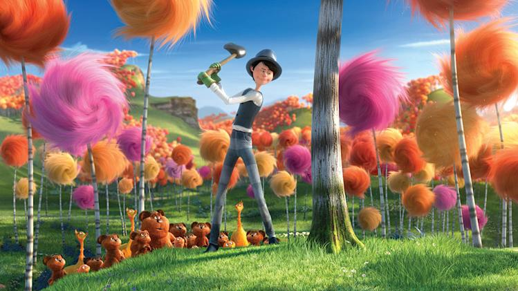 Dr. Seuss the Lorax 2012 Universal Pictures