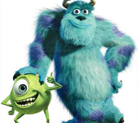 "From ""Monsters Inc."": Don't judge a book by its cover"
