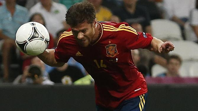 European Football - Spain's Alonso announces international retirement