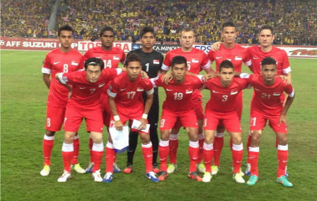 The Lions' Suzuki Cup campaign got off to a flying start after a 3-0 win over Malaysia. (Photo courtesy of FAS)