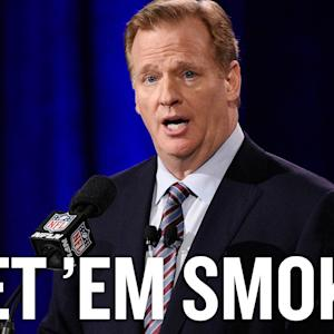 Let NFL players smoke weed
