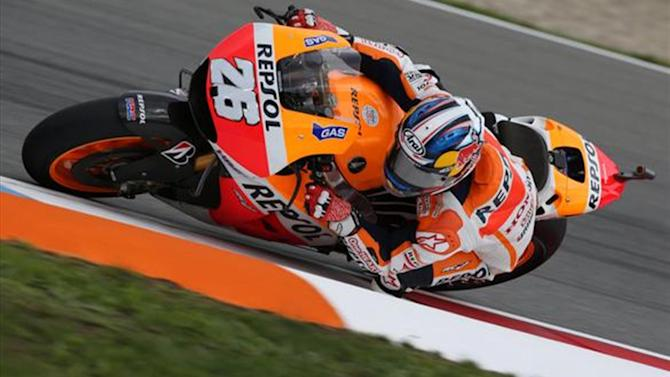 Motorcycling - Pedrosa ends Marquez's 10-race winning streak in Brno