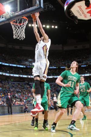 Davis powers Pelicans past Celtics in overtime