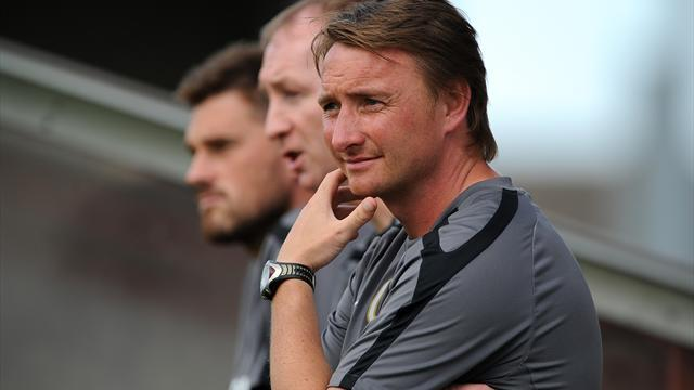 Football - Brass leaves Scunthorpe